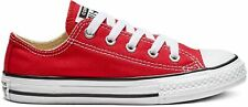 Converse Sneaker Low Chuck Taylor All Star Kids - Ox - Rot Segeltuch Normal Dame
