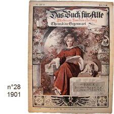 Das Buch für Alle n°28/1901 Illustrierte Familien-Zeitung journaux anciens