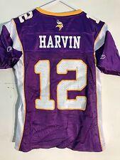 Reebok Women's NFL Jersey Minnesota Vikings Percy Harvin Purple sz L