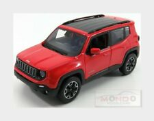 Jeep Renegade 2017 Red Black MAISTO 1:24 MI31282OR