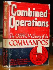 1943 History British Commandos In WWII, Norway, Dieppe, Italy, N. Africa, Maps