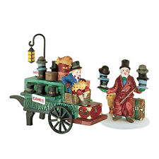 Nib - Chelsea Market Hat Monger & Cart Dept 56 - Dickens Village, 58392 Retired