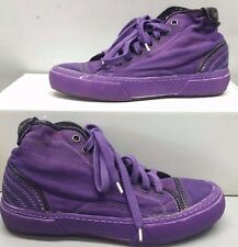 PANTOFOLA D'ORO SNEAKERS CANVAS TN47 VIOLA 36 GIGLIO PURPLE UNISEX UOMO DONNA