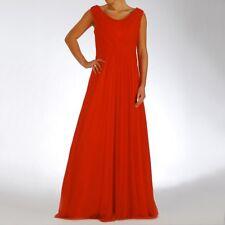 Abendkleid Partykleid FestkleidAbiballkleidBallkleid rot 42