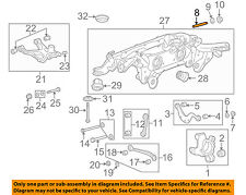 Buick GM OEM 08-17 Enclave Rear Suspension-Adjust Bolt 11610267