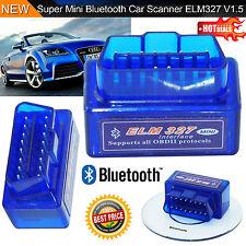 Mini ELM327 OBD2 V2.1 Car Bluetooth Scanner Android Auto Scan Diagnostic Tool DP
