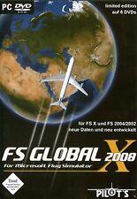 Flight Simulator X - FS Global 2008 von Rough Trade Soft...   Game   Zustand gut