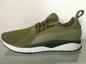 PUMA 'Tsugi Apex' KHAKI GREEN Trainers MENS - Size UK 10.5 (HARDLY WORN)