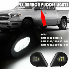 18LED Side Mirror Puddle Light For Dodge Ram 1500 2500 3500 4500 5500 2010-19 2X