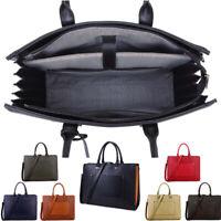 Large Handbag Ladies Laptop Bag Work Bag Briefcase Tote Bag Macbook 15.6 Inch