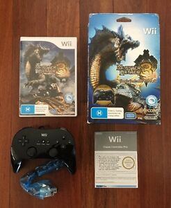 Monster Hunter 3 Tri Classic Controller Pro Pack - Official Nintendo Wii