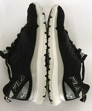 FILA Skele-Toes Mens Size 9 Lace-up Aqua Water Shoes Black Sport Barefoot