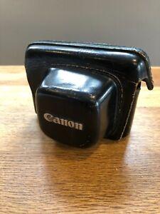 CANON CANONET QL Giii 17 ORIGINAL LEATHER CASE