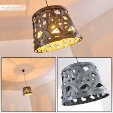 Lampe à suspension Retro Plafonnier Lustre Lampe pendante Lampe de séjour grise