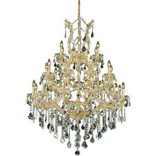 28 LIGHT MARIA THERESA ASFOUR CRYSTAL CHANDELIER FOYER DINING ROOM HALLWAY ENTRY
