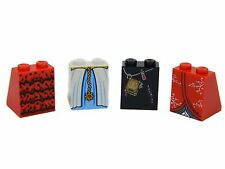 Lego Skirt Dress [x4] for minifigures girl woman female legs # GENUINE # NEW #