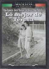 DVD - Lo Mejor De Teresa NEW Coleccion Mexico En Pantalla FAST SHIPPING !