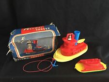 Vintage 1940s Renwal Tuggsy Tuggy Toy Tugboat # 128 Rare