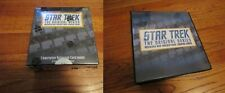 Star Trek The Original Series Archives and Inscriptions Sealed BOX & BINDER TOS