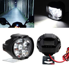 6 LED Cold White Motorcycle Headlight Spot Light DRL Driving Fog Lamp Waterproof