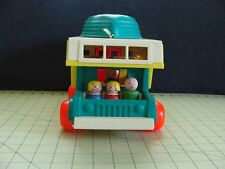 1972 FISHER PRICE PLAY FAMILY CAMPER BOAT