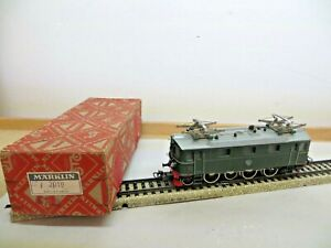 Märklin Electric Locomotive 3019.2 GS 800 Br Da of the Sj Green Tested Boxed