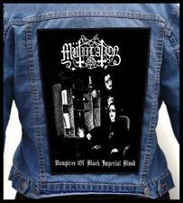 MUTIILATION - Vampires of Black Imperial.. --- Huge Jacket Back Patch Backpatch