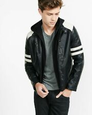 Express Faux Leather Coats Jackets For Men Ebay