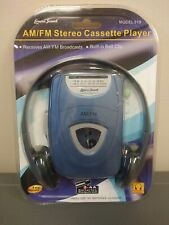 Lenox Sound Model 919 Personal Am/Fm Stereo Cassette Player Factory Sealed.