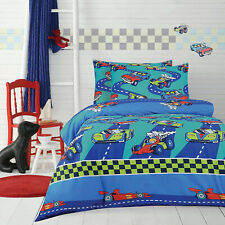 Cars Kids Quilt Doona Cover Set by Ardor Home   Fast Cars   Double