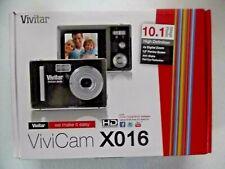 Vivitar Vivicam X016 10.0 Megapixel Digital Camera - Black (10MP, 1.8'' Screen