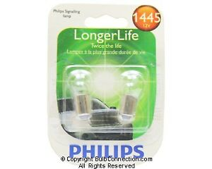 NEW Philips BC9604 1445 Long Life Automotive 2-Pack 1445LLB2 Bulb