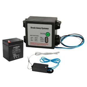 Break Away System with Battery& Switch Trailer Float Boat Electric Breakaway