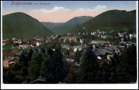 Friedrichroda Thüringen Postkarte 1915 gelaufen Ansicht vom Kurhaus gesehen