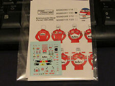 1/43 M.Schumacher Figure Decal Ferrari 1996-2006 *Tameo/Denizen/Minichamps