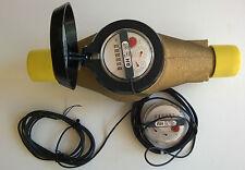 "AQUA METRO Topas Art. 89105 PMK 25-RH100 Wasserzähler – Water flow mtr DN25 – 1"""