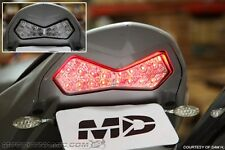 03-06 Kawasaki Z1000 2003-2004 ZX-6R INTEGRATED Turn Signal LED Tail Light CLEAR