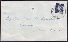 "QUEENSLAND  POSTMARK ""KALLANGUR WEST"" ON COMMERCIAL COVER DATED 1969 (PS4871)"