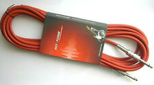 Roxtone Guitar Cable Instrument Cable Eco 19.7ft Red