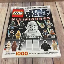 Lego Star Wars Minifigures Ultimate Sticker Book Collection Paperback
