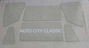 58 Chevy Bel Air 2 Door Hardtop Vent Door Quarter Glass Clear Pontiac Chieftain