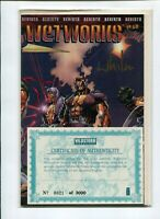 Wetworks Comics, #1-5, 7, 8, SOURCEBOOK + #1 SIGNED (1994, Image) FREE SHIPPING!