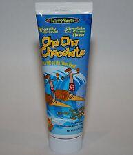 Tanners Tasty Paste Cha Cha Chocolate Anti-Cavity Fluoride Toothpaste 4.2 oz.
