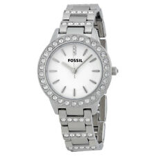 Fossil Women's ES2362 34mm Jesse Stainless Steel Crystal Watch
