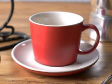LA CAFETIERE Rituals MATT RED CUP and SAUCER