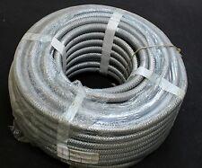 FLEXA 50m Metallschutzschlauch SPR-PVC-EDU-AS AD21 17x21mm flüssigkeitsdicht Her