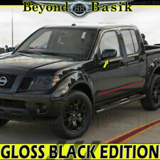 Fits 2005-2018 NISSAN FRONTIER 2005-2012 PATHFINDER GLOSS BLACK Mirror Covers