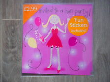 Pack of 10 Hen Party Celebration invites party invitations