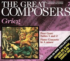 GREAT COMPOSERS #7 Grieg CD - Peer Gynt & A Minor Concerto
