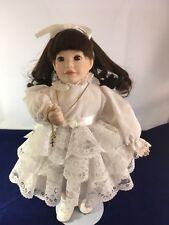 """Ashton Drake Doll Ann Marie 14"""" 1993 W/Stand"""